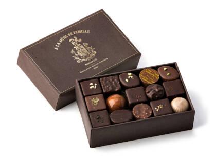Coffret de chocolats assortis 240g À la Mère de Famille