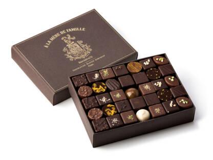 Coffret de chocolats assortis 760g À la Mère de Famille
