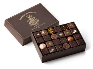 Coffret de chocolats assortis 430g À la Mère de Famille