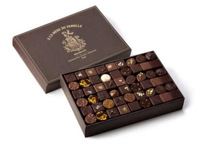 Coffret de chocolats assortis 1kg À la Mère de Famille