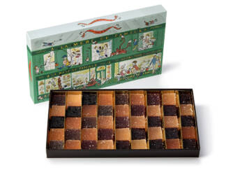 Coffret de pâte de fruits 715 g