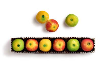 Réglette de pommes candies