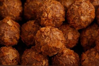 Coffret de truffes feuilletine