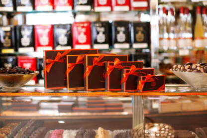 Coffret de chocolats assortis 430g