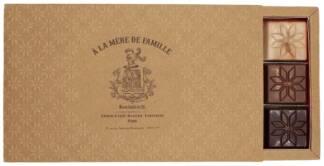 Coffret 3 barrettes - Praliné