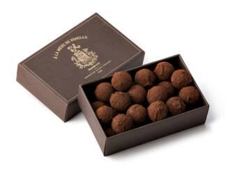 Coffret de truffes vanille Bourbon
