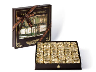 Coffret 48 marrons glacés