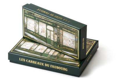 Packaging les carreaux du Faubourg