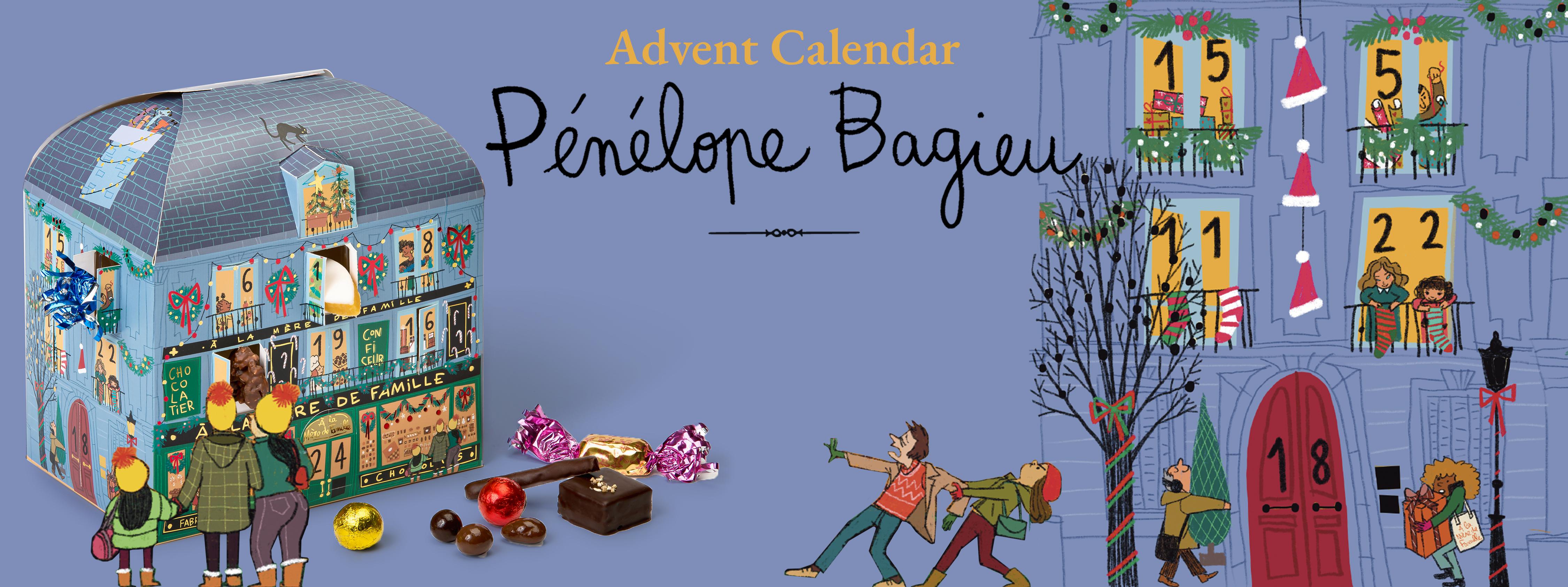 Advent Calendar 2021 x Pénélope Bagieu