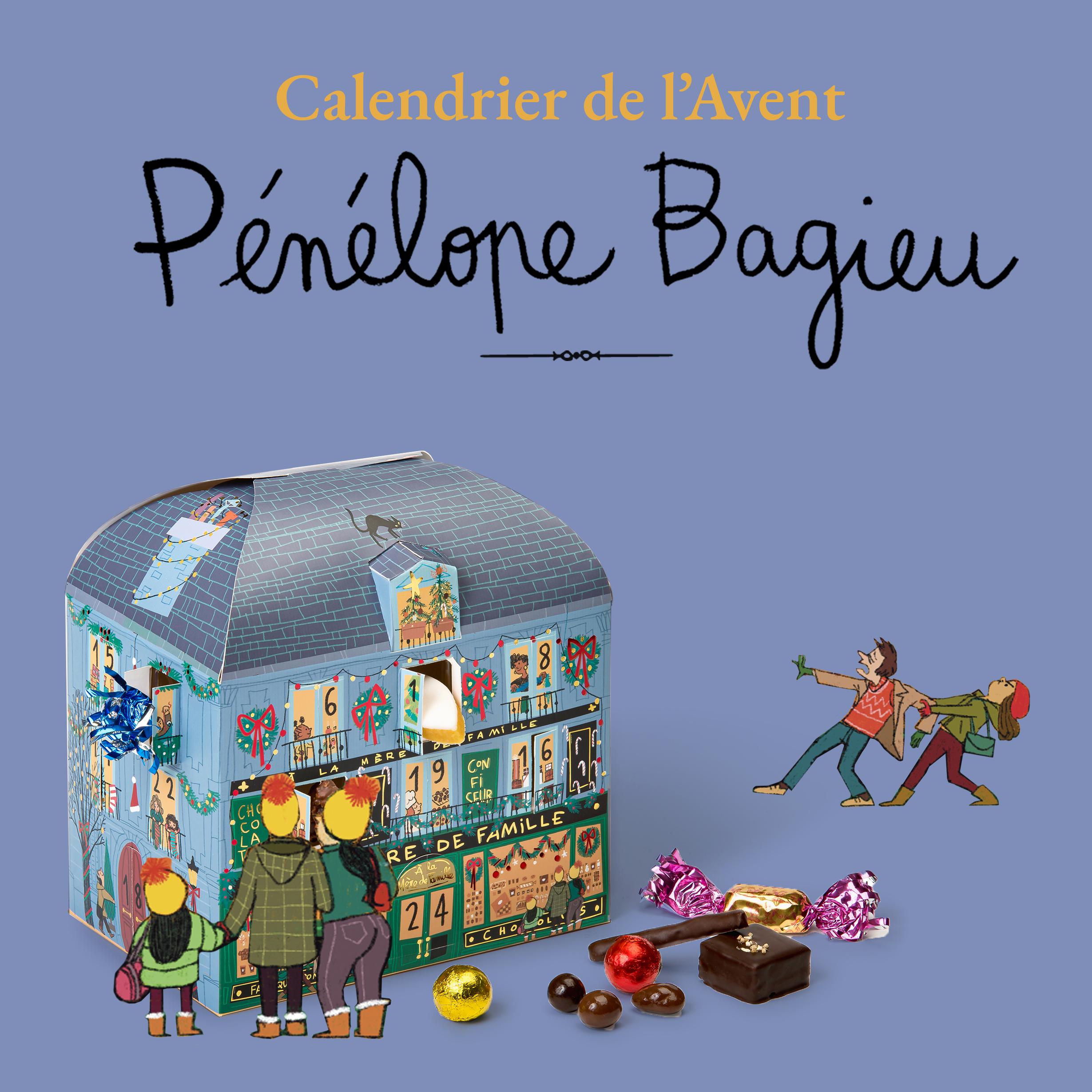 Calendrier de l'Avent 2021 x Pénélope Bagieu